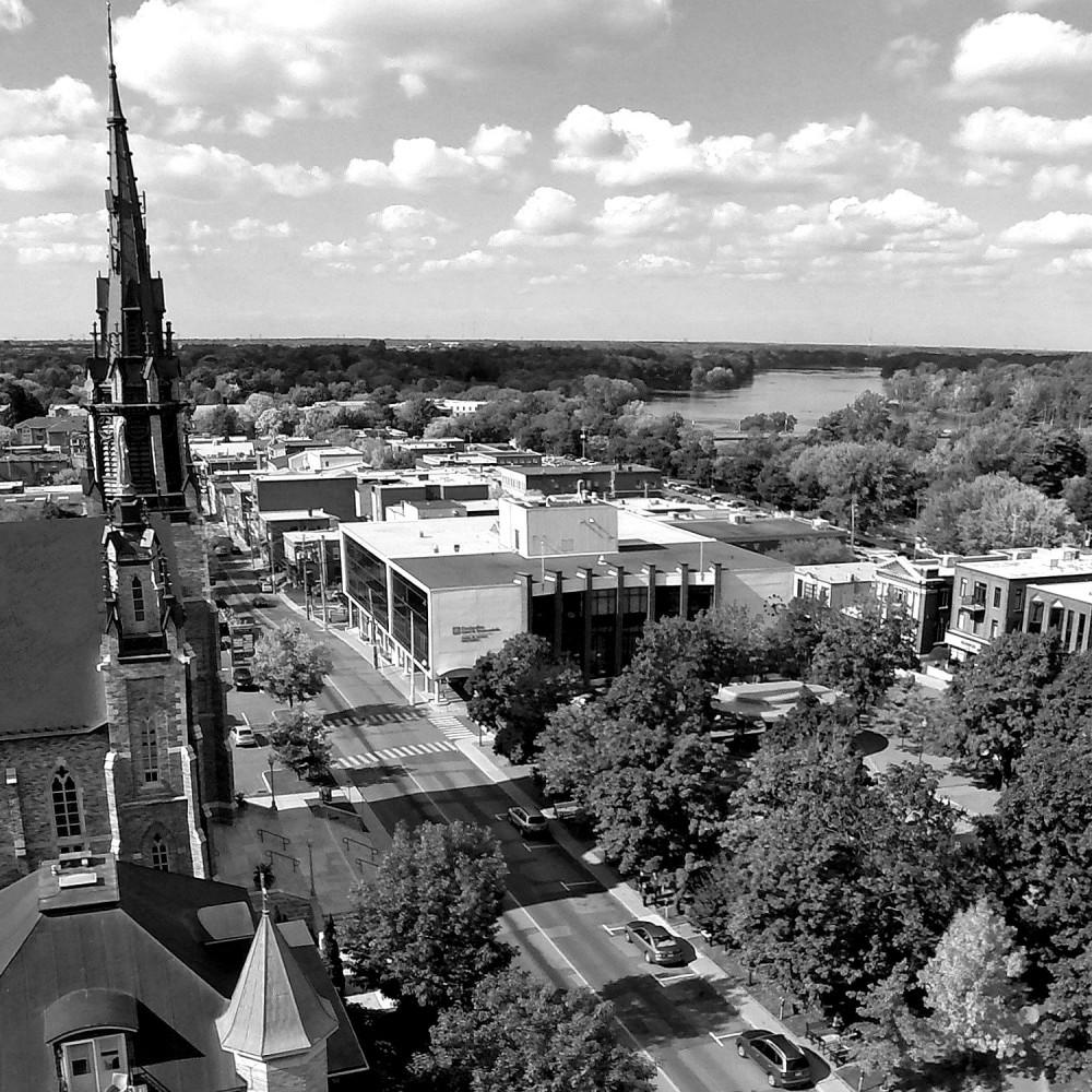 Histoire Drummondville Photographe Éric Beaupré Noir et Blanc